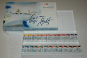 Watercolour Paint Set WHITE NIGHTS Extra Fine 24x2.5ml