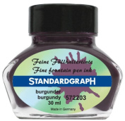 Standardgraph Ink burgundy 30ml 572203