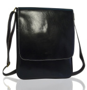BDJ Classic Black Cross Body Messenger Shoulder Handbag Men