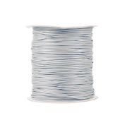 1 piece for 170m Korea Waxed Cotton Cord Colour Light Grey Size 1.5x1.5mm