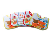 Kangaroo Feeder Bib with Waterproof Liner, Farm Animals