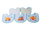 Kangaroo Newborn Bib Set, Vehicles