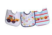 Kangaroo Feeder Bib Set, Vehicles