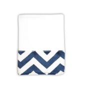 Caught Ya Lookin' Baby Burp Cloth, Navy/White/Red