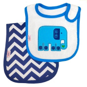 Happy Chic Baby By Jonathan Alder Bib and Burp Set - Elephant