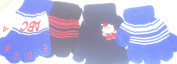 Set of Four Pairs Magic Gloves for Ages 1-3 Years