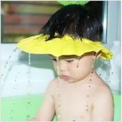 Soft Safe Baby Kid Children Shampoo Bath protector Shower Cap Hat Wash Hair Shield