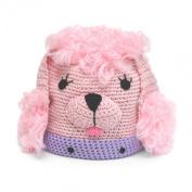 Best of Chums Poodle Crochet Hat