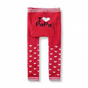Wrapables I Heart Collection Baby and Toddler Leggings, 6-12 Months
