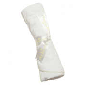 Kissy Kissy - Signature Collection Receiving Blanket - White with Yellow-One Size
