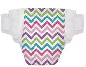 The Honest Company Nappies Size 3 - CHEVRON