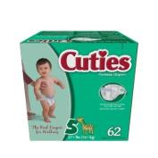 Cuties JR Club Premium Nappies (5) 62 CASE