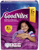 Goodnites Underwear - Girl - Small - 31 ct