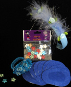 Krafty Eye Patch Girl Blue Princess Set