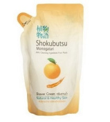 Shokubutsu Monogatari,orange Shower Gel 220 Ml,refill