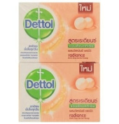 Dettol Radiance Anti-bacterial Bar Soap 70g X 4pcs