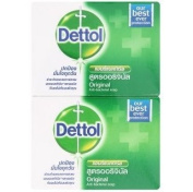Dettol Original Formula Anti-bacterial Soap 70g X 4 Pcs