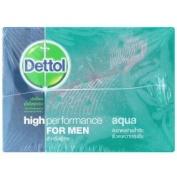 Dettol High Perforrmance for Men Aqua Soap 70g X 3pcs