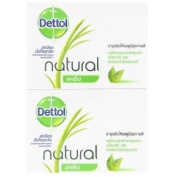 Dettol Natural Caring Formula Soap 70g X 4 Pcs