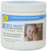 Triple Paste Medicated Ointment for Nappy Rash, 470ml