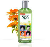 NATUR VITAL HAPPY HAIR SHAMPOO FOR CHILDREN-PEACH / GREEN TEA / MARIGOLD 16.9 OZ/500 ML