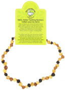 Momma Goose Teething Necklace, Baroque Unpolished Multi Small