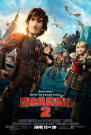 How to Train Your Dragon 2 POSTER (2014) 60cm X 90cm (THICK) New - Jay Baruchel, Kristen Wiig, America Ferrera
