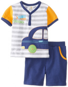 ABSORBA Baby-Boys Infant Cars Short Set