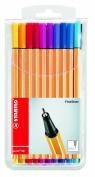 Stabilo 88 20-colour Wallet Set