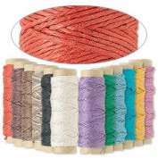 Hemptique Hemp Cord Twine .5 mm 110m 12 Colour Mix