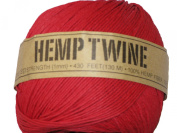 Hemp Twine Red 20# 1mm 430Ft 130m