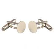 Cuff Links Blanks - 20 (10 pairs) - 10mm Glue Pads