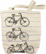 HomArt Canvas Tote, Bicycle