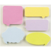 Little B 100080 150-Piece Decorative Tabs, Captions