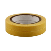 Lychee Craft 2pcs DIY Japanese Yellow Mini Washi Tape