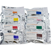 CandleScience Candle Dye Block Sample Pack, 8 Blocks