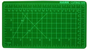 13cm X 23cm Self-Healing Green Cutting Mat With Pre-Marked Grid Lines For Accurate Cutting :