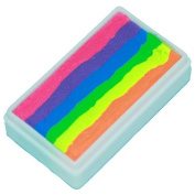 TAG Face Paint 1-Stroke Split Cake - Rainbow Neon