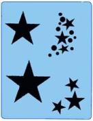 StencilEyes - QuickEZ/Star Groupies Design Stencil #21
