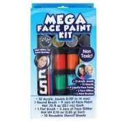 Mega Washable Face Paint Kit