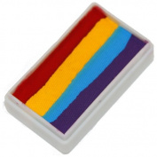 TAG Face Paint 1-Stroke Split Cake - 4 Colour Rainbow
