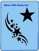 Stencileyes - Quickez/ Stars Stencil #23