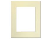 Pre-cut Photo Mat Board by Accent Design Cream Core 41cm x 50cm . for 28cm x 36cm . Photo Ivory