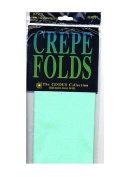 Cindus Crepe Paper Folds sea foam green [PACK OF 6 ]