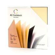American Crafts 30cm by 30cm Cardstock Variety Pack, Neutrals