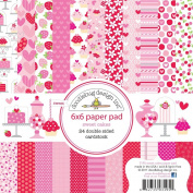 Sweet Cakes 6X6 Paper Pad