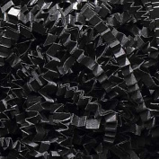 0.2kg Crinkle Cut Paper Shred - Black - Gift Basket Filling