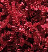 0.2kg Crinkle Cut Paper Shred - Red - Gift Basket Filling