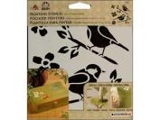 Folk Art 30607 Painting Stencil, Birds
