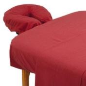 True Premium Cotton Flannel Massage Table Sheet 3 Pc Set
